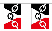 BLACK COUNTRY BUNTING - 3 METRES 10 FLAGS